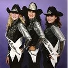 2000 Queen Rachael (Denniston) Gibson, Princess Cassie (Valdez) Suarez, Princess Lisa (Couch) Corbin