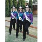 2007 Queen Corey (Heitz) Hanberg, Princess Katie (Doty) Krisher, Princess Michelle (True) Harris