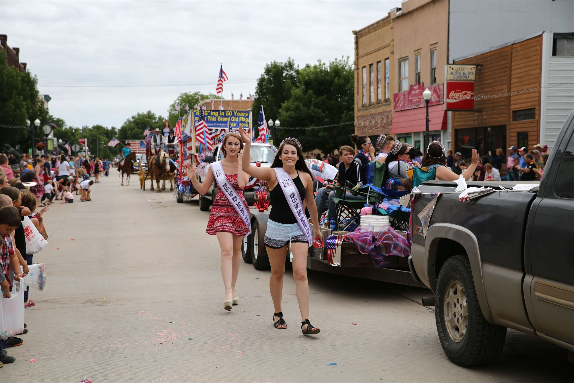 Black Hills Roundup Parade