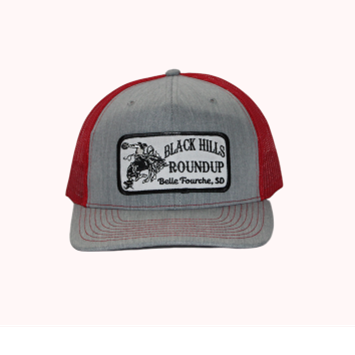 BHR Cap - Grey Red with Patch