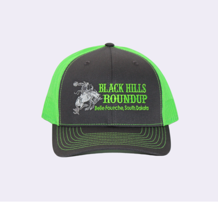 BHR Cap - Green with Embroidery
