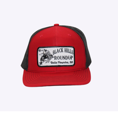 BHR Cap - Red with Patch