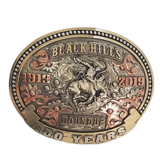 BHR 100 Years Buckle