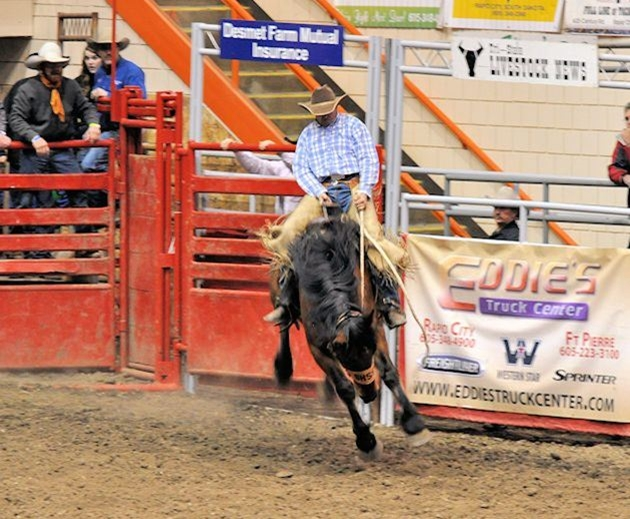 2012 Ranch Rodeo Bronc Match- Tim Vivion