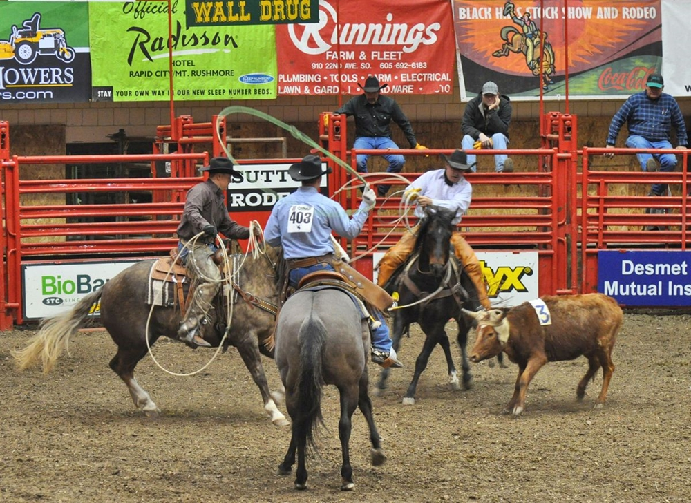2012 Ranch Rodeo- J.H. Minor Team