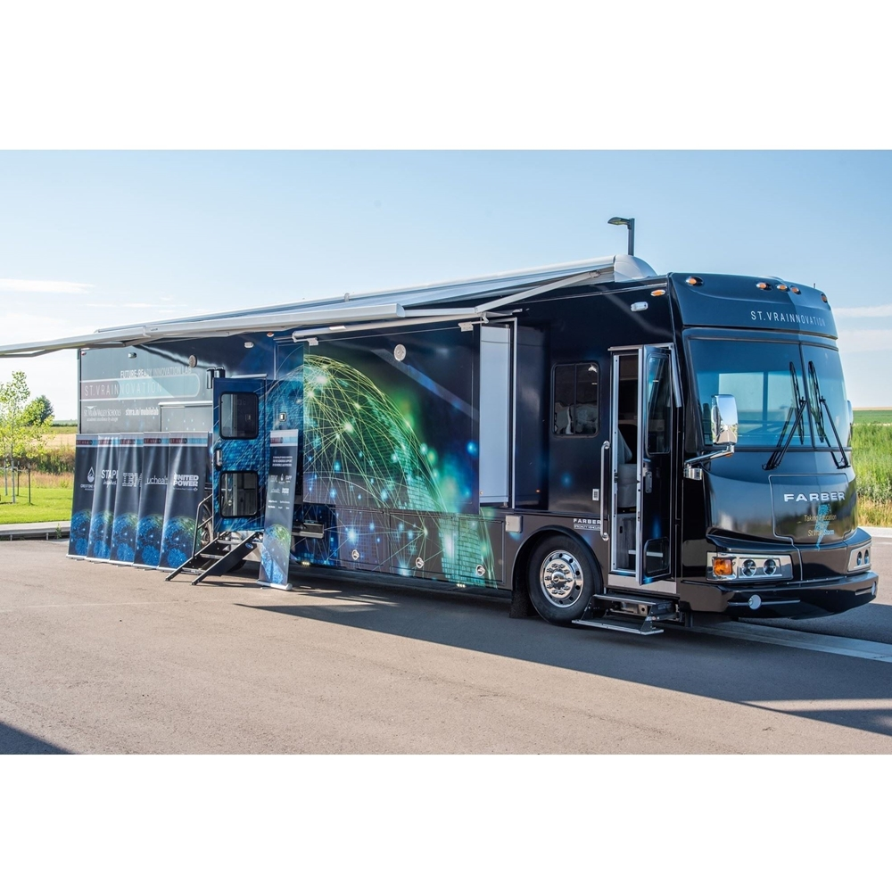 New St. Vrain Mobile Lab at the fairgrounds