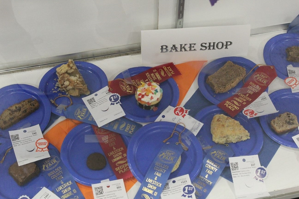 Bake Shop entries displayed with ribbons