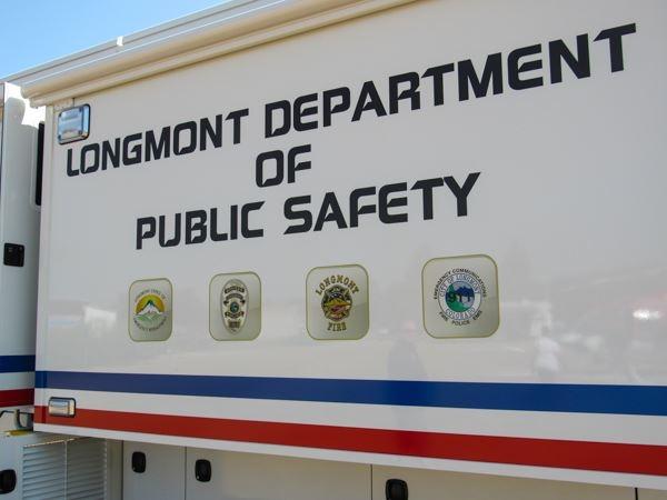 Longmont Dept. of Public Safety truck