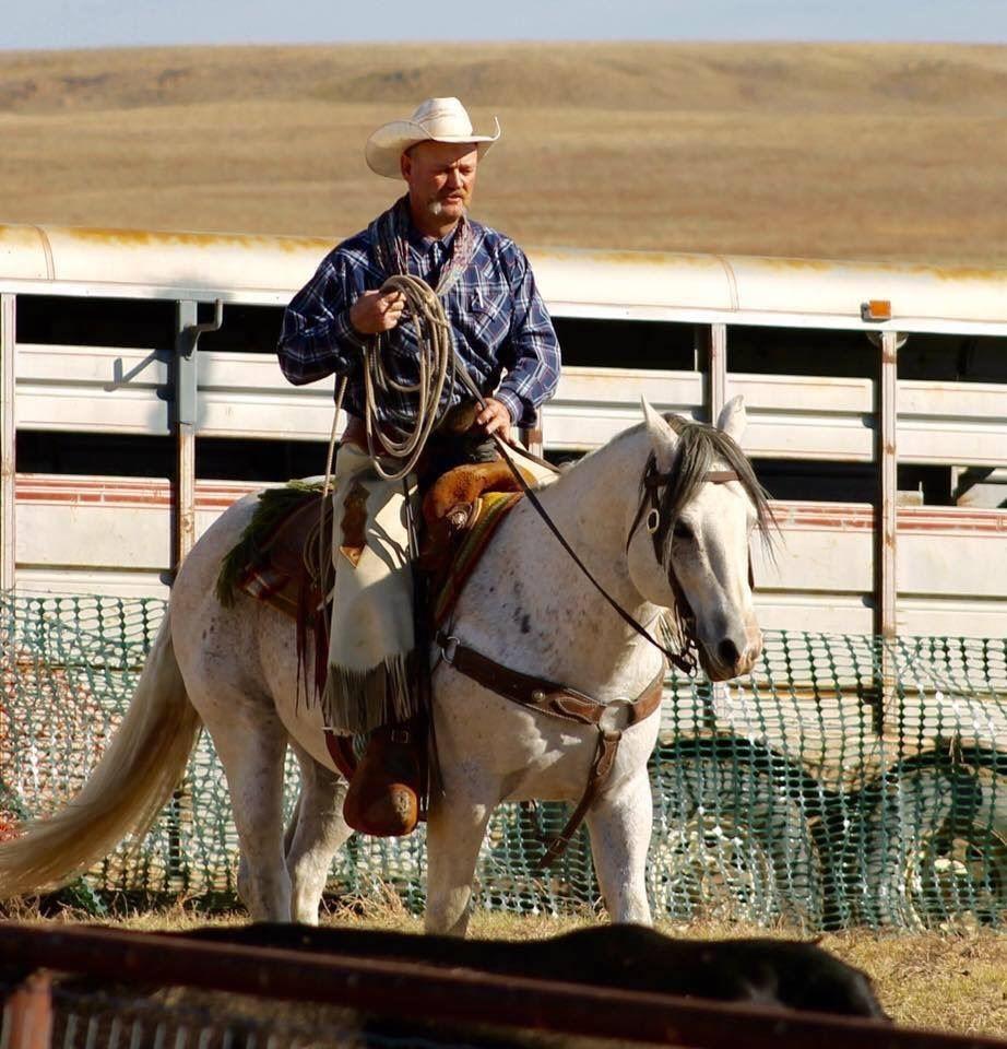 Pastor David Shumpert riding a horse
