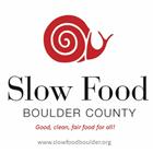Sponsor Slow Food of Boulder County logo