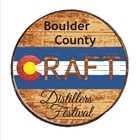 Boulder County CRAFT Distillery Festival beverage coaster