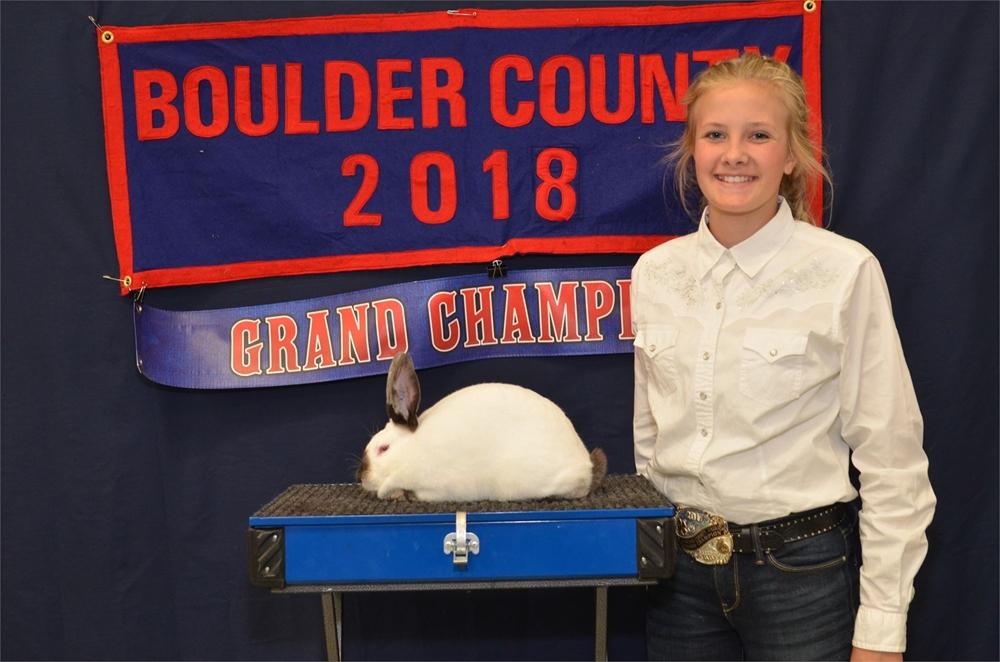 2018 Grand Champion Market Rabbit