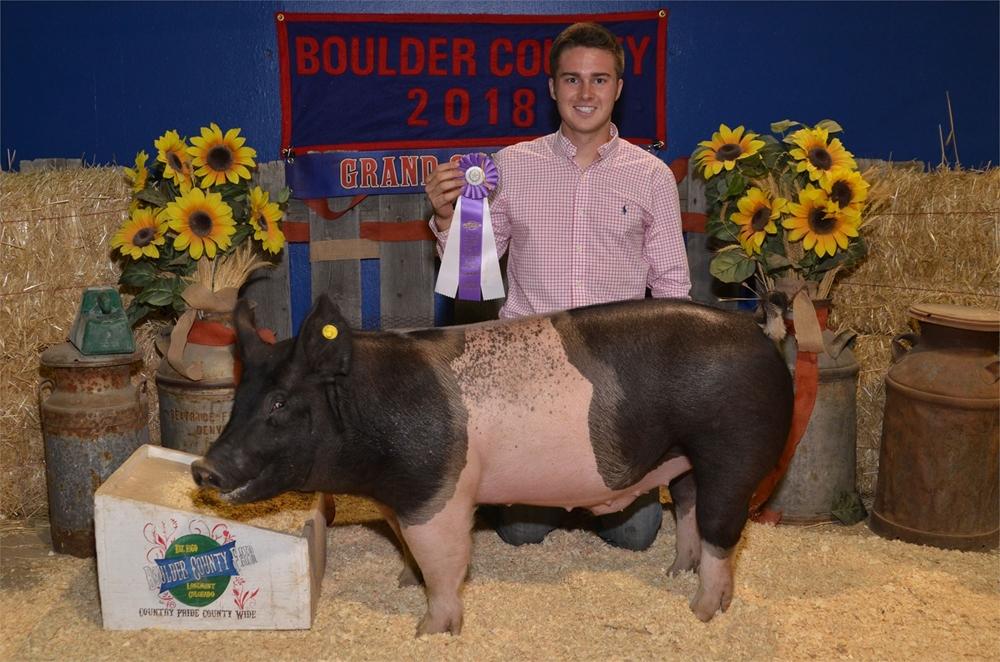 2018 Grand Champion Market Swine