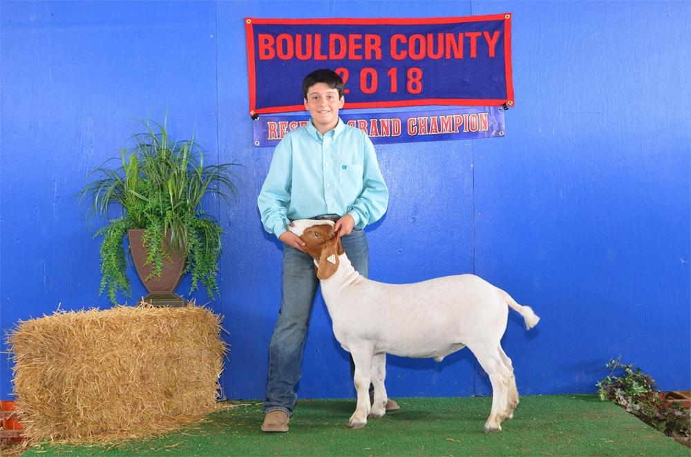 2018 Reserve Grand Champion Market Goat