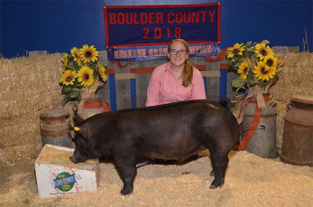 2018 Reserve Grand Champion Market Swine