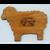 Cutting Board-Sheep
