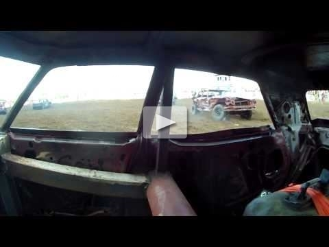Demolition Derby View From Inside