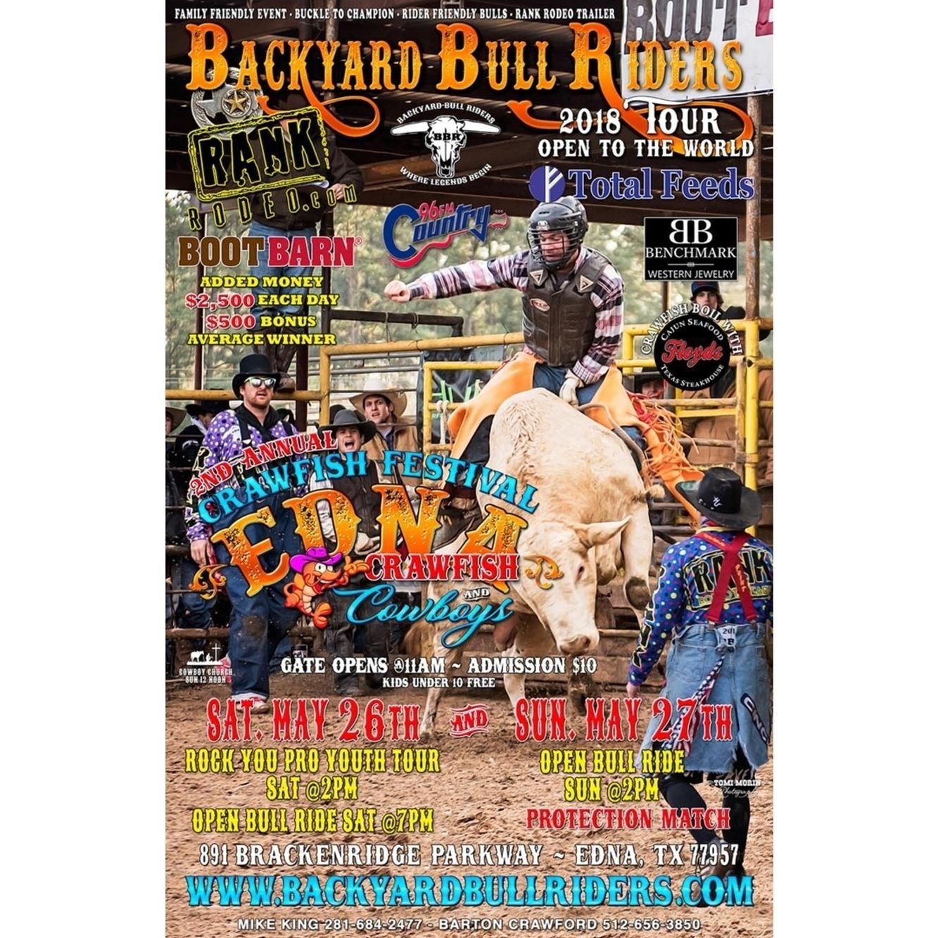 RANK Rodeo Bull Riding & Crawfish Festival