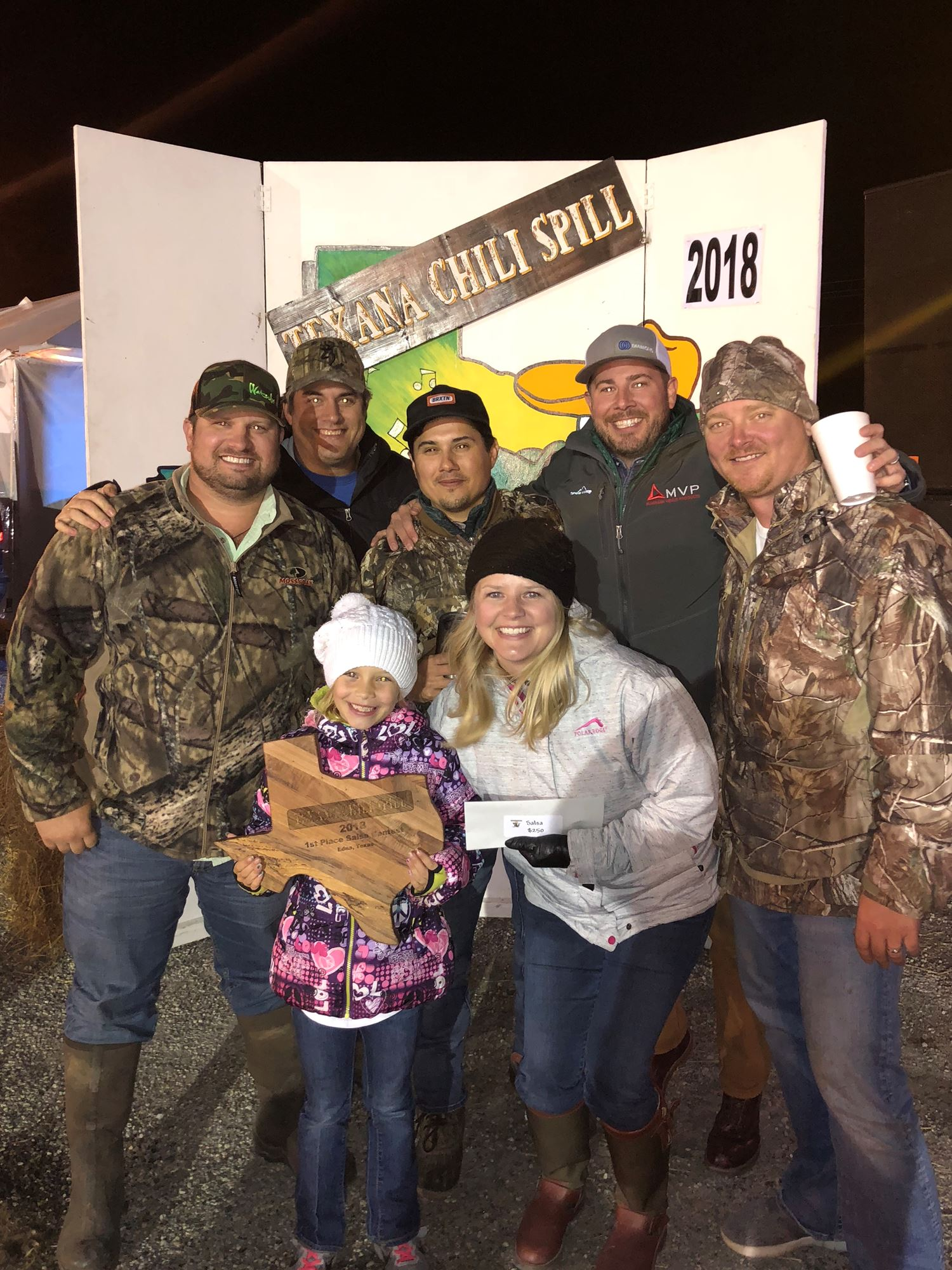 Texana Chili Spill Cook-Off