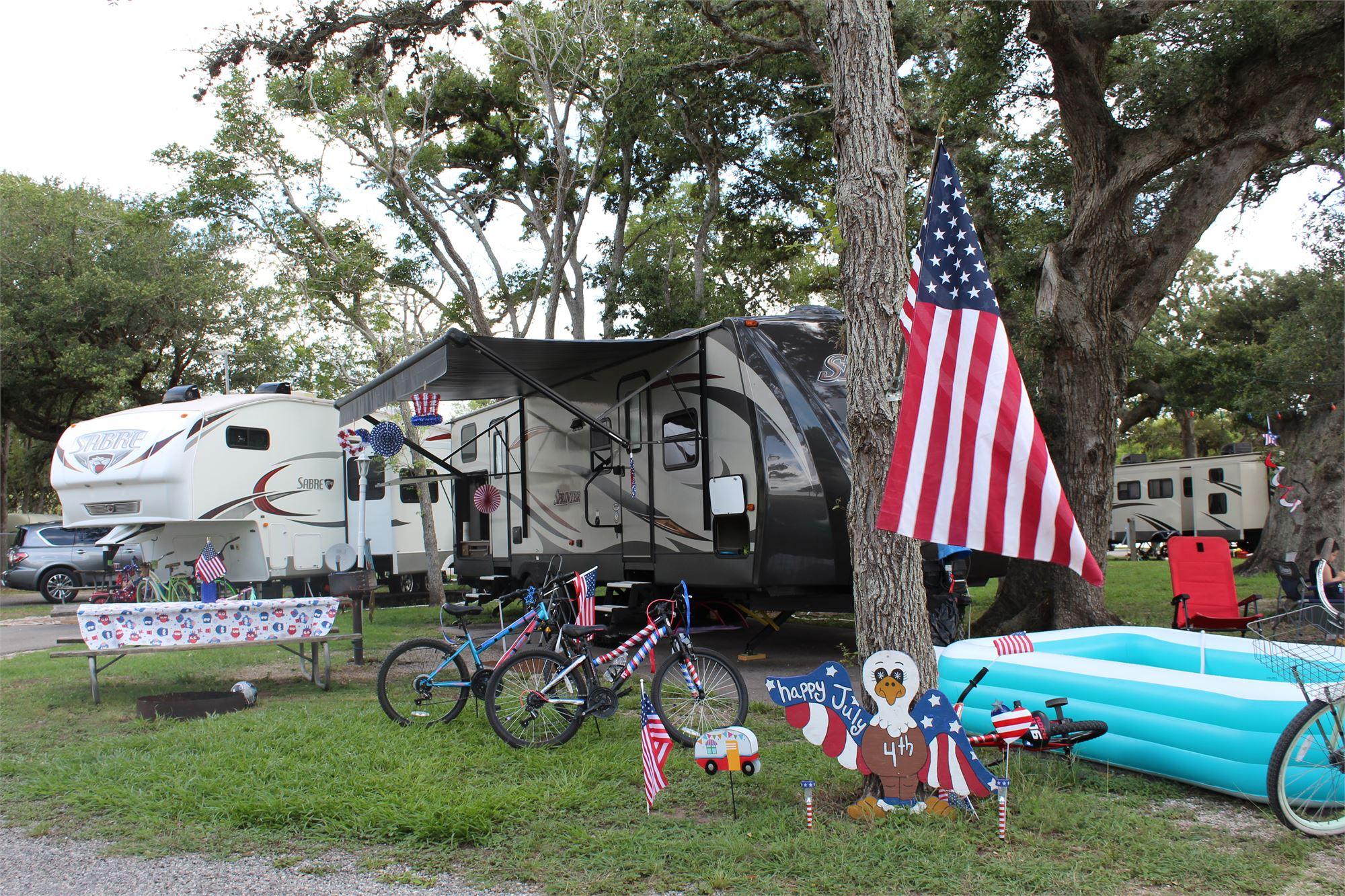 Best Decorated Campsite!