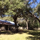 Texana Cabin 2 Back Yard View