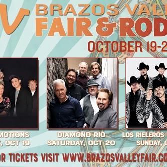 2018 Brazos Valley Fair & Rodeo Entertainment Announced