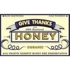 Give Thanks for Honeybees