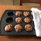 Pumpkin Apple Crumb Muffins