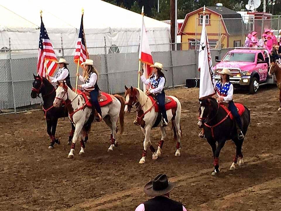 Salinas Rodeo Color Guard