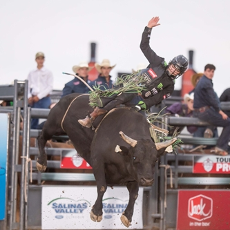 PROFESSIONAL BULL RIDERS TO COMPETE IN SALINAS JULY 17TH