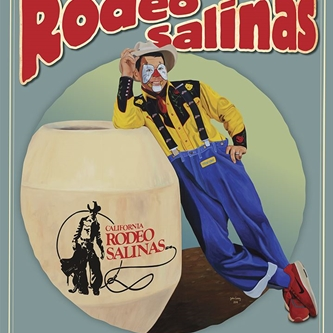 2019 CALIFORNIA RODEO SALINAS COMMEMORATIVE POSTER