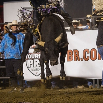 MATT TRIPLETT WINS BIG WEEK PROFESSIONAL BULL RIDING IN FRONT OF ANOTHER SOLD OUT CROWD