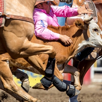 DO YOU HAVE YOUR PINK SHIRT READY FOR THE RODEO?