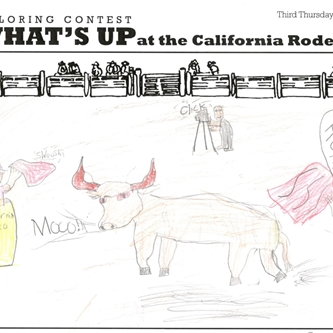 CALIFORNIA RODEO'S COLORING CONTEST RETURNS APRIL 1ST