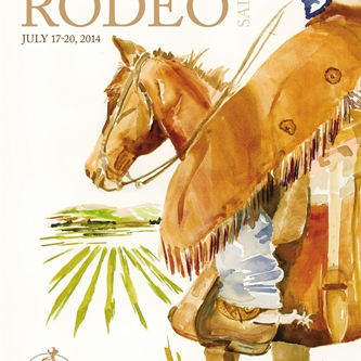 2014 COMMEMORATIVE CALIFORNIA RODEO POSTER NOW AVAILABLE