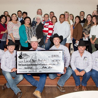 CALIFORNIA RODEO INC. GIVES BACK OVER $400,000 THIS YEAR