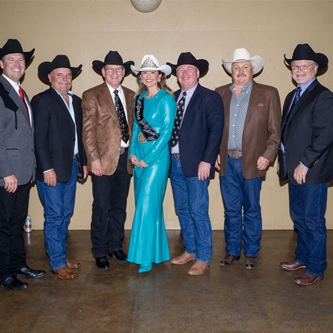 NEW RODEO PRESIDENT TAKES THE REINS