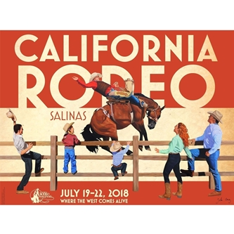 CALIFORNIA RODEO UNVEILS 2018 COMMEMORATIVE POSTER