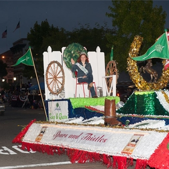 The 2013 Colmo del Rodeo Parade is Presented by Taylor Farms