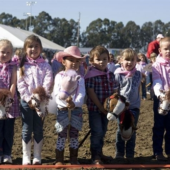 CALIFORNIA RODEO CELEBRATES ITS 25TH STICK HORSE RACE THIS YEAR