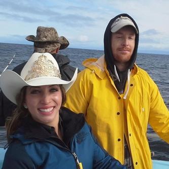 Miss California Rodeo Salinas and Veterans Braved Rain & Rough Waters to Fish
