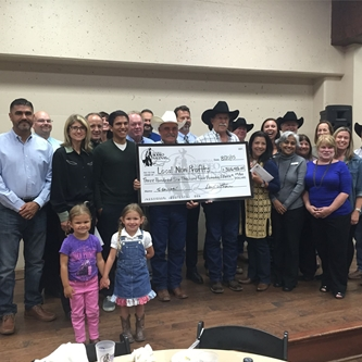 CALIFORNIA RODEO ASSOCIATION PRESENTS COMMUNITY DONATIONS