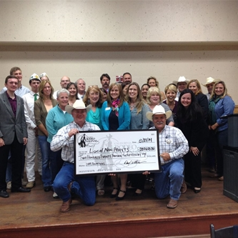 California Rodeo Association Presents Non-Profits with Funds