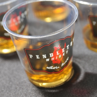 Let'er Buck at the Pendleton® Whisky Tasting on Friday April 1st