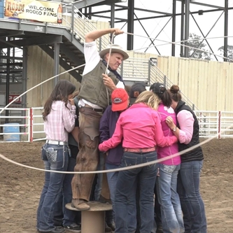 GUINNESS WORLD RECORD SET AT CALIFORNIA RODEO SALINAS