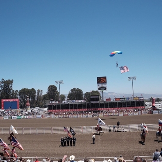 SALUTE TO MILITARY DAY DRAWS ALMOST 12,000 PEOPLE TO THE CALIFORNIA RODEO SALINAS