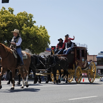RODEO'S FRIDAY HORSE PARADE HAS A NEW ROUTE