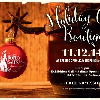 Save the date for the California Rodeo's Holiday Chic Boutique
