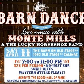 California Rodeo Salinas Hosting an Old-fashioned Barn Dance