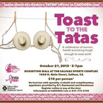TOAST TO THE TATAS ON OCTOBER 21st